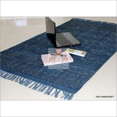 Handmade Printed Cotton Rugs