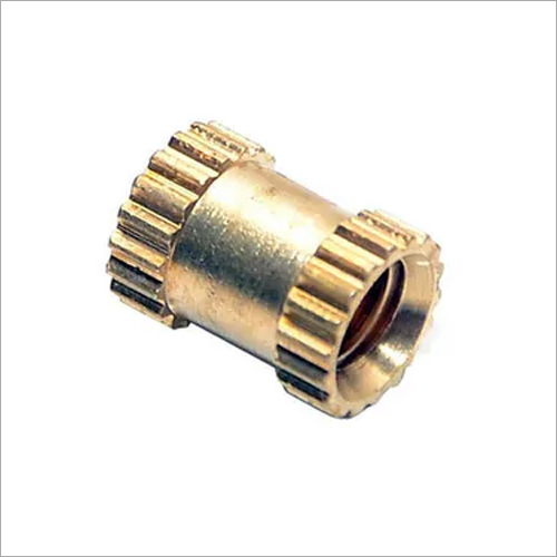 Brass Round Straight Knurling Inserts