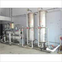 Purification Drinking Water Treatment Plant
