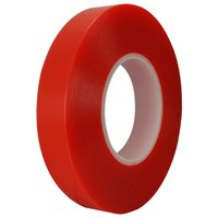 Double Sided Red Polyester Tape