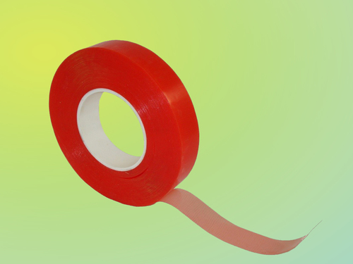 Red Polyester Silicone Tape