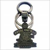 Ezzideals RE Key Chain Gold Color