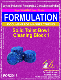 Toilet Cleaner Making Formula's