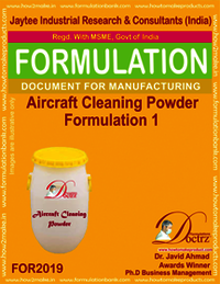 Aircraft Cleaning Powder Formulation 1