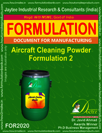 Aircraft Cleaning Powder Formulation 2