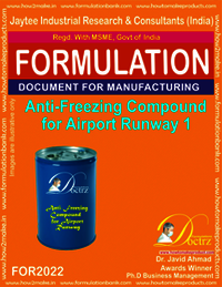 Anti-Freeze Compound For Airport Runway 1