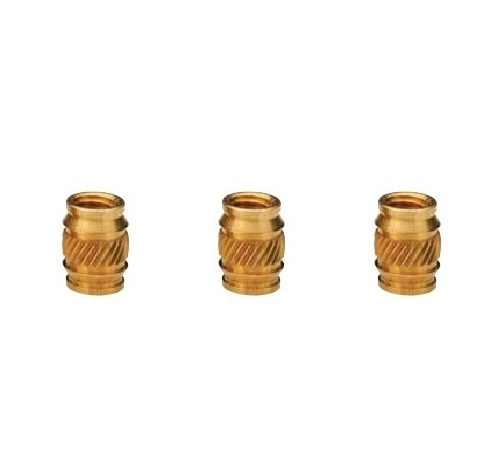 Brass Ultrasonic Heat Staking Rubber Inserts