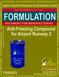Anti-Freeze Compound For Airport Runway 2