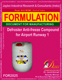 Defroster Anti-Freeze Compound For Airport Runway 1