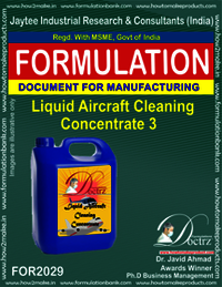 Liquid Aircraft Cleaning Concentrate 3