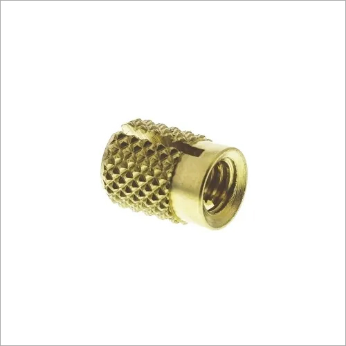 BPI-4 Brass Press-in Insert