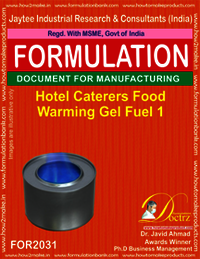 Hotel Caterers Food Warming Gel Fuel 1