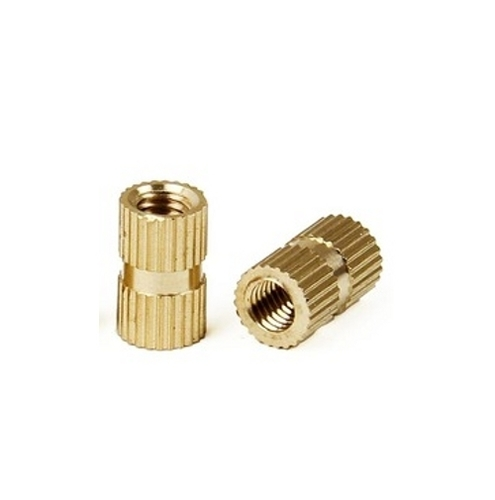 Brass Knurled Thread Insert Nut