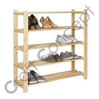 Wooden Shoe Rack