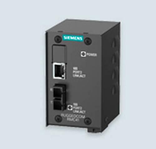 Siemens Ruggedcom RMC41 media converter ethernet switch