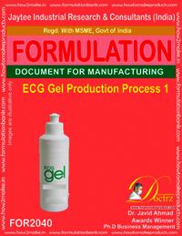 ECG Gel Production Process 1