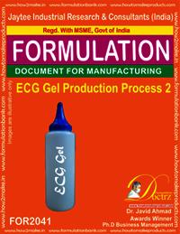 ECG Gel Production Process 2