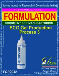 ECG Gel Production Process 3