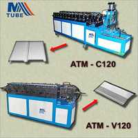 Ceiling Plate Light Steel Keel Machine & Damper