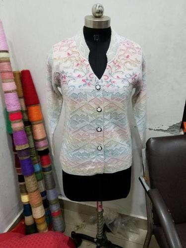 Woolen Ladies Cardigan