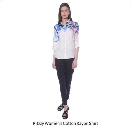 Women's Cotton Rayon Shirt
