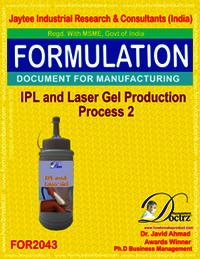 IPL & Lase Gel Production Process 2