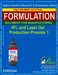 IPL & Lase Gel Production Process 1