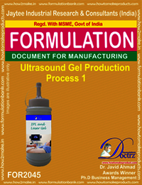 Ultrasound Gel Production Process 1
