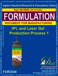 IPL & Lase Gel Production Process 3