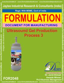 Ultrasound Gel Production Formulation 3 - Jay Tee Industrial
