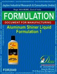 Aluminium Shiner Liquid Formulation 1