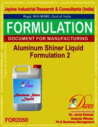 Aluminium Shiner Liquid Formulation 2