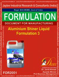 Aluminium Shiner Liquid Formulation 3