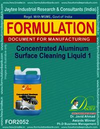 Concentrated Aluminium Cleaning Liquid 1