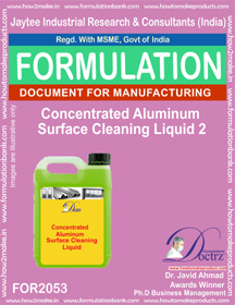 Metal Cleaner Formulations