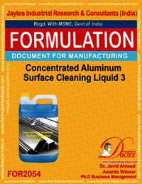 Concentrated Aluminium Cleaning Liquid 2