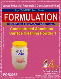 Concentrated Aluminium Cleaning Powder 1