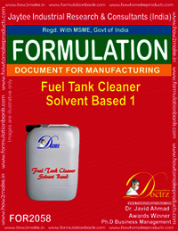Fuel Tank Cleaner Solvent Based 1