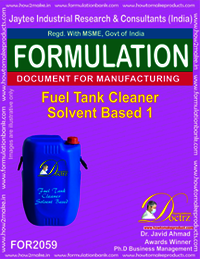Fuel Tank Cleaner Solvent Based 3