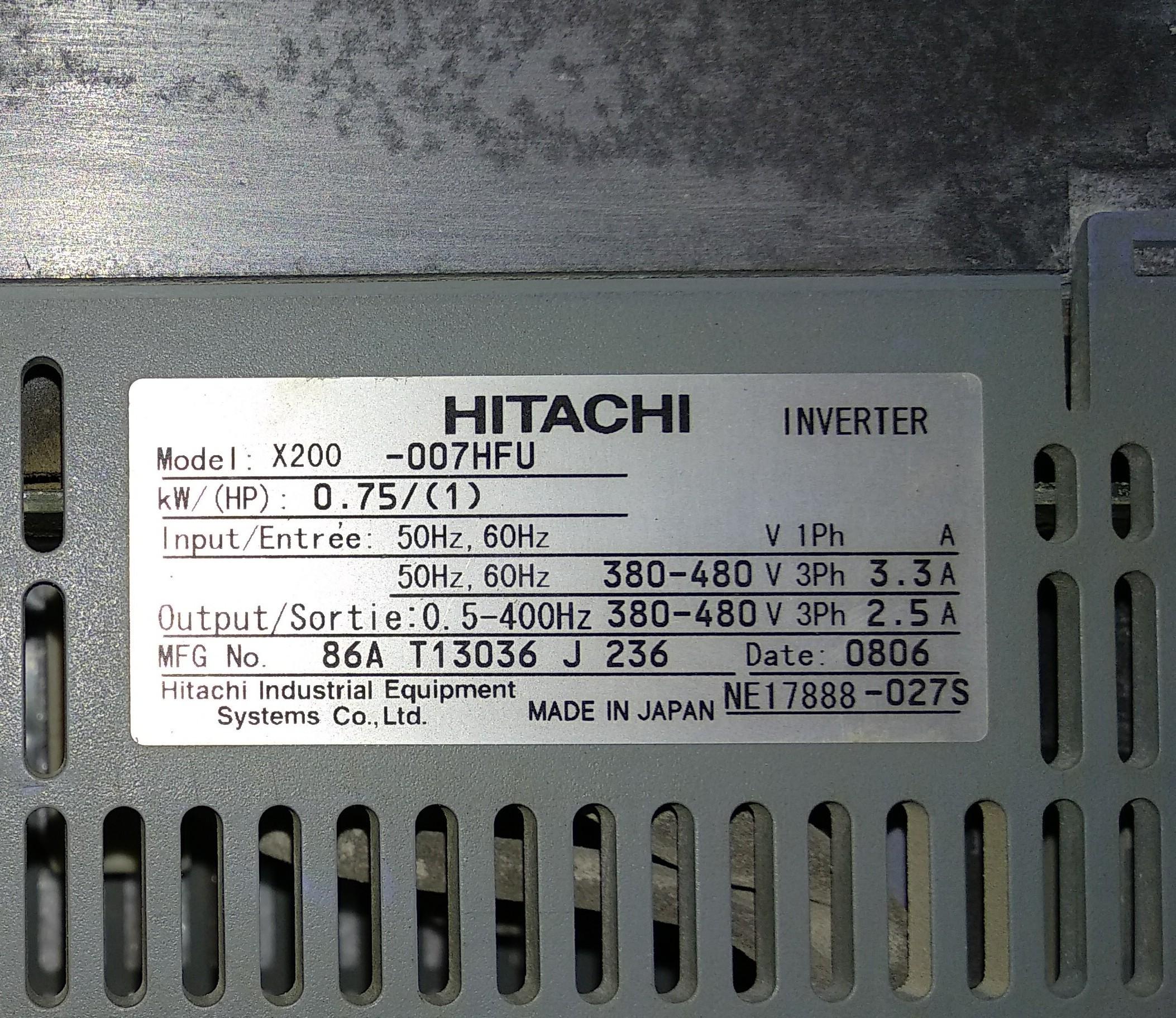 Hitachi AC Drives