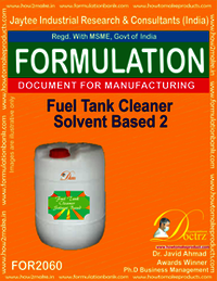 Fuel Tank Cleaner Solvent Based 2