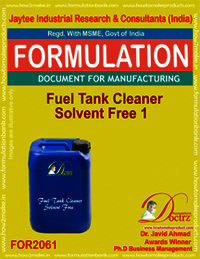 Fuel Tank Cleaner Solvent Free 1
