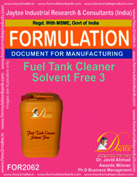Fuel Tank Cleaner Solvent Free 3