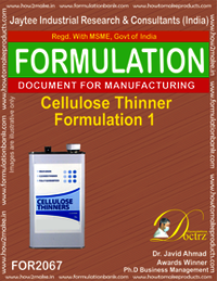 Cellulose Thinner Formulation 1