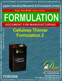 Cellulose Thinner Formulation 2