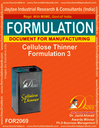 Cellulose Thinner Formulation 3