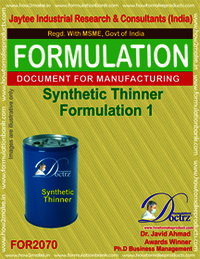 Synthetic Thinner Formulation 1