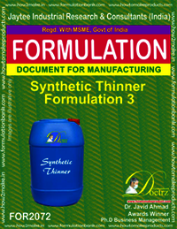 Synthetic Thinner Formulation 3