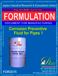 Corrosion Preventive Fluid for Pipes 1