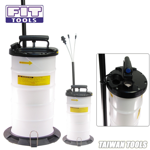 FIT TOOLS 9.5L Manual Operation Oil or Fluid Extractor
